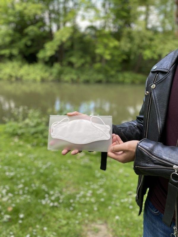 WecanG anti-bacteria mask case