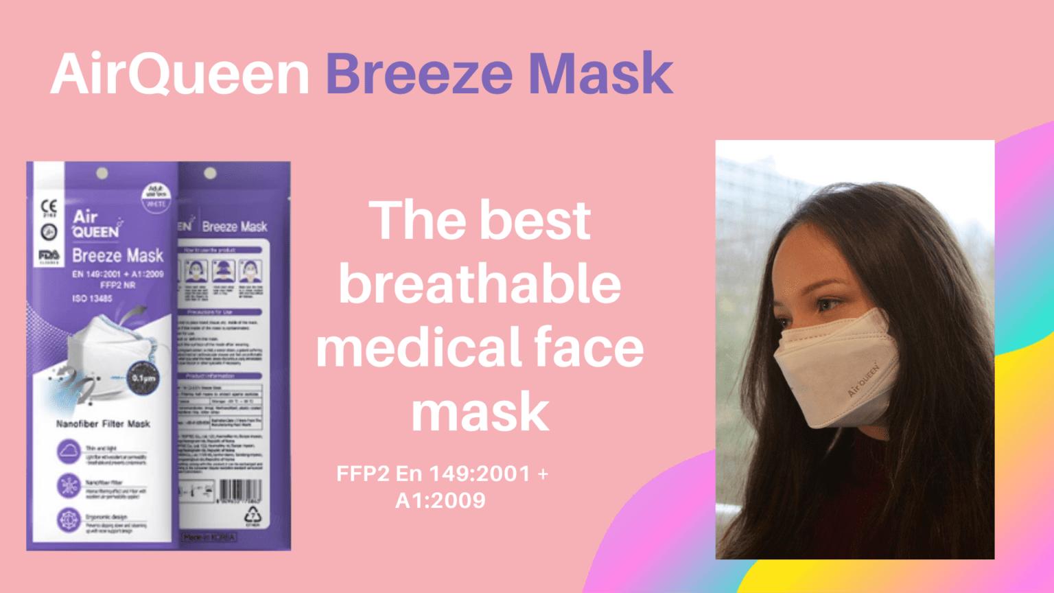 AirQueen mondmasker ffp2